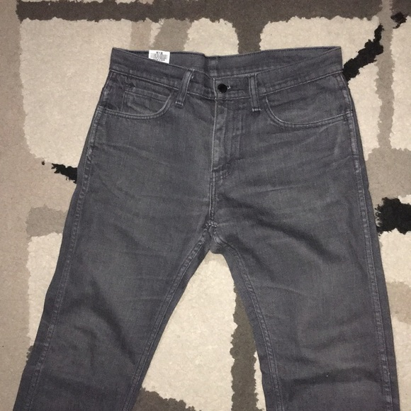 clearance prices wide selection latest collection Men's black label Levi's 513 jeans